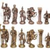 WillCraft Metal Brass Chess Set 2