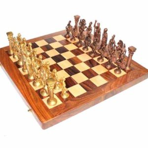 WillCraft Metal Brass Chess Set