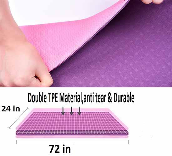 WillCraft Y30 Yoga Mat 4
