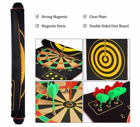 Willcraft Portable Magnetic Dart Game3