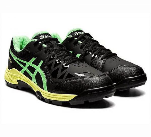 Asics Gel-Peake Cricket Shoes_Black&Yellow