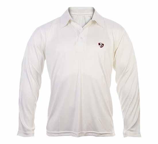 SG Club Full Sleeves Cricket T-Shirt