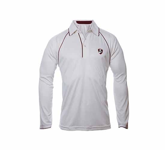SG Premium Full Sleeves Cricket T-Shirt