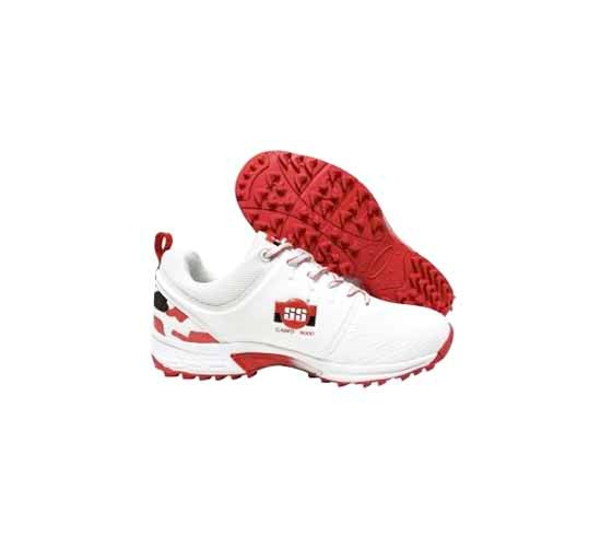 SS Camo 9000 Cricket Shoes - Red