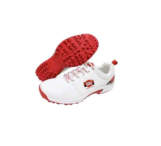 SS Camo 9000 Cricket Shoes - Red1
