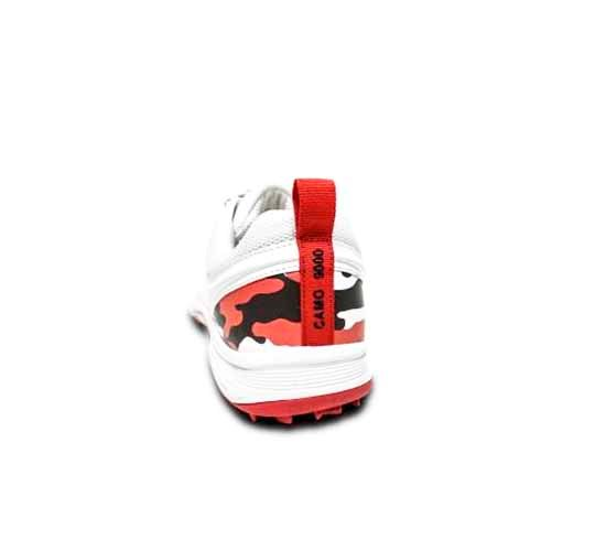 SS Camo 9000 Cricket Shoes - Red2