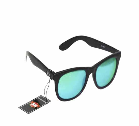 SS Classy Green With Black Frame Sunglasses