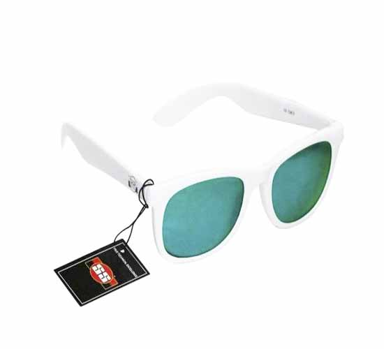 SS Classy Green With White Frame Sunglasses