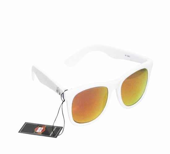 SS Classy Red With White Frame Sunglasses
