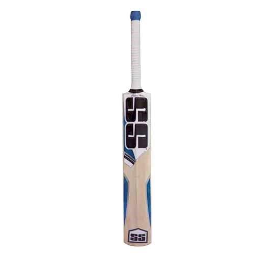SS White Edition Blue Kashmir Willow Cricket Bat1