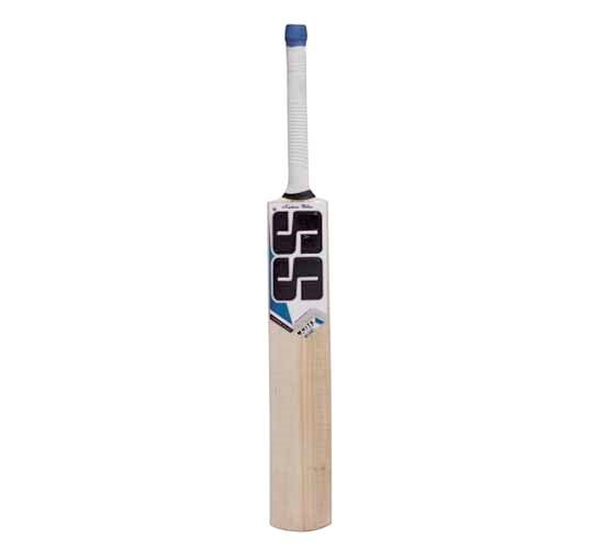 SS White Edition Blue Kashmir Willow Cricket Bat1