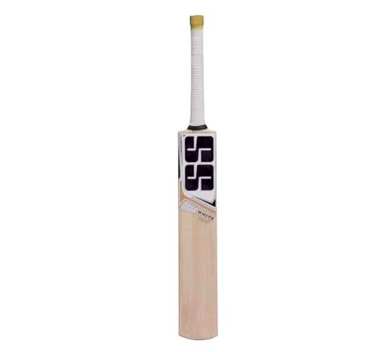 SS White Edition Gold Kashmir Willow Cricket Bat2