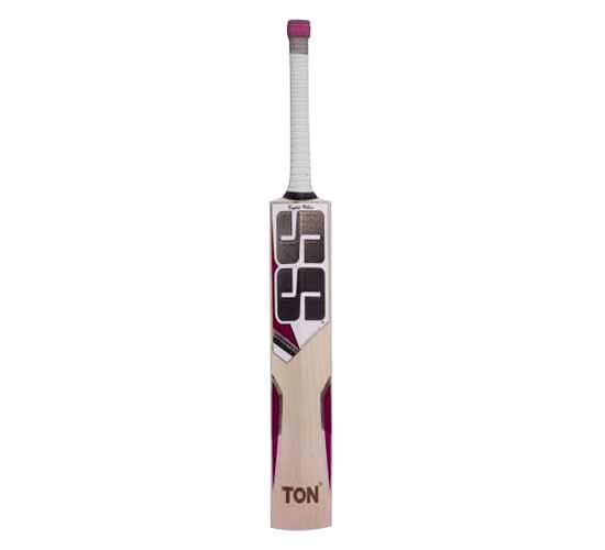SS White Edition Pink English Willow Cricket Bat1