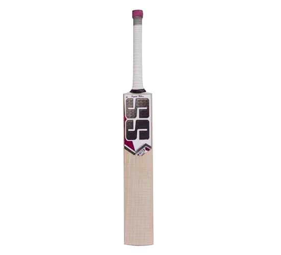 SS White Edition Pink English Willow Cricket Bat2