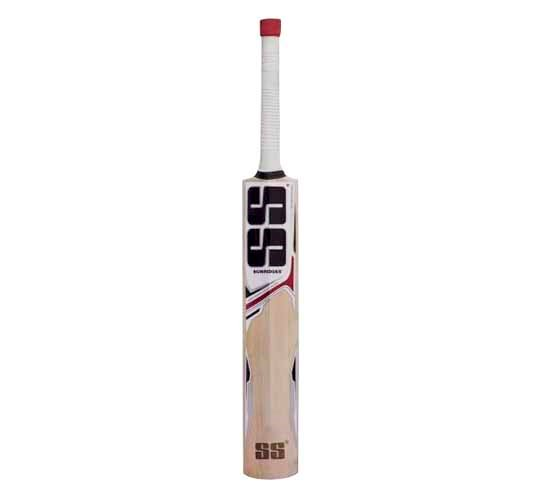 SS White Edition Red Kashmir Willow Cricket Bat1