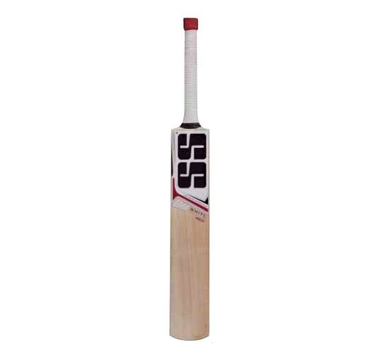 SS White Edition Red Kashmir Willow Cricket Bat2
