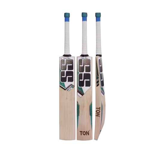 SS White Edition green English Willow Cricket bat