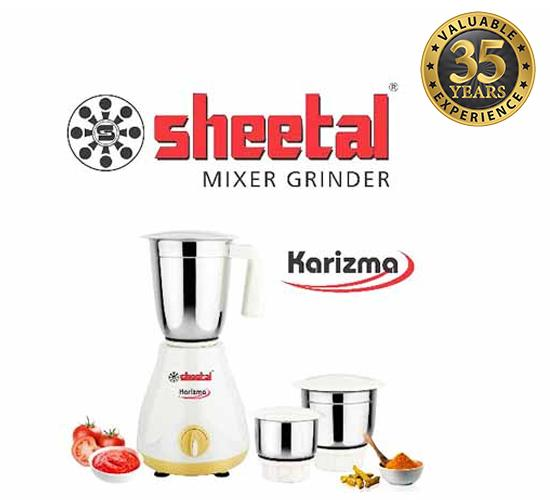 Sheetal Karizma Mixer Grinder_450 Watts_New