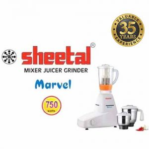 Sheetal Marvel Mixer Juicer Grinder_750 Watts_New