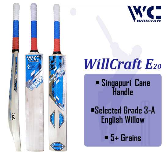WillCraft E20 English Willow Cricket Bat_cover