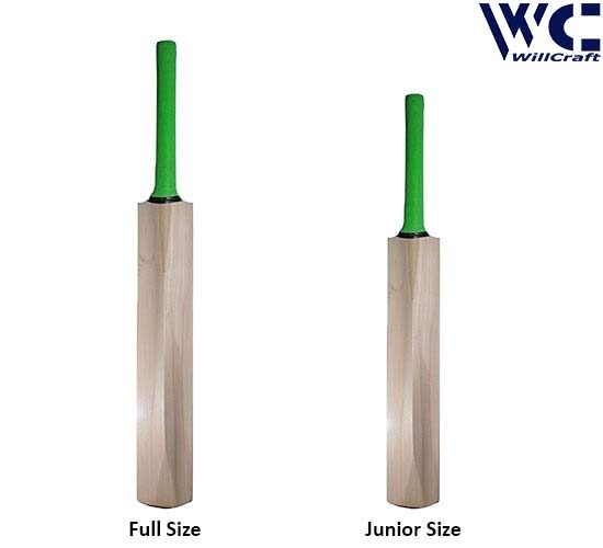 WillCraft K10 Both Kashmir Willow Plain Tennis Cricket Bat