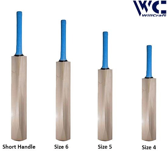WillCraft K20 All Kashmir Willow Plain Cricket Bat