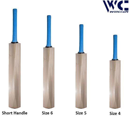 WillCraft K20 All Kashmir Willow Plain Cricket Bat