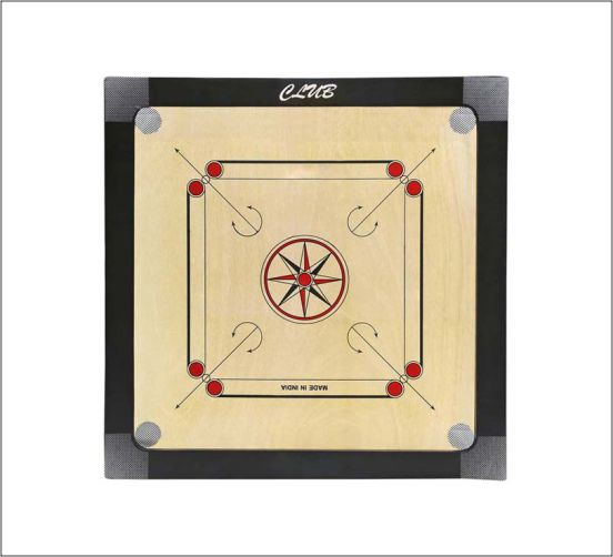 WillCraft-Club-Wooden-Carrom-Board-26x26-inches