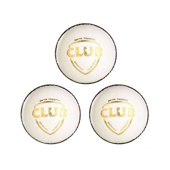WillCraft Club ball_white_pack of 3