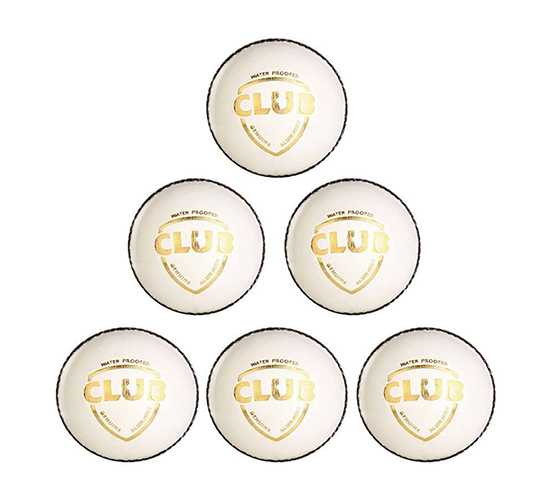 WillCraft Club ball_white_pack of 6
