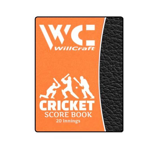 WillCraft Cricket Score Book 20 innings
