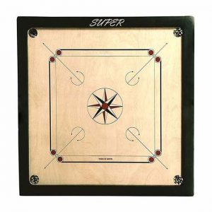 WillCraft Super Wooden Carrom Board 32x32 2nd image