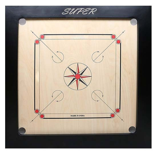 WillCraft Super Wooden Carrom Board 36x36 2nd image