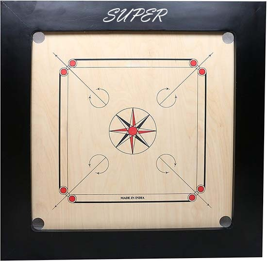 WillCraft Super Wooden Carrom Board 39x39 2nd image