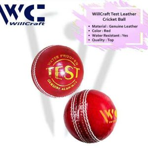 WillCraft Test Ball_red_cover image
