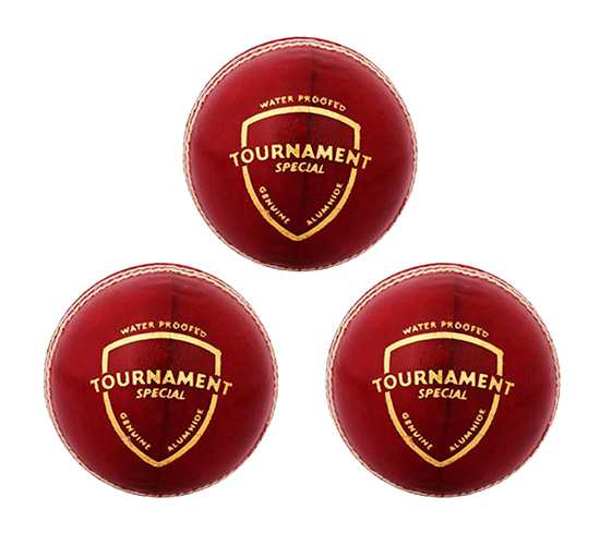 WillCraft Tournament Ball_Red_Pack of 3