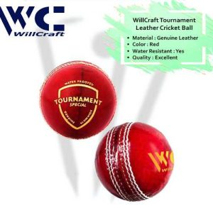 WillCraft Tournament Ball_red_cover image