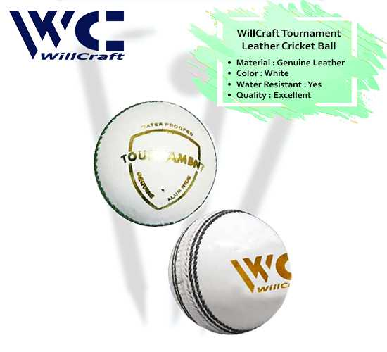 WillCraft Tournament Ball_white_cover image