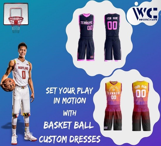 WillCraft Basket Ball Custom Dresses
