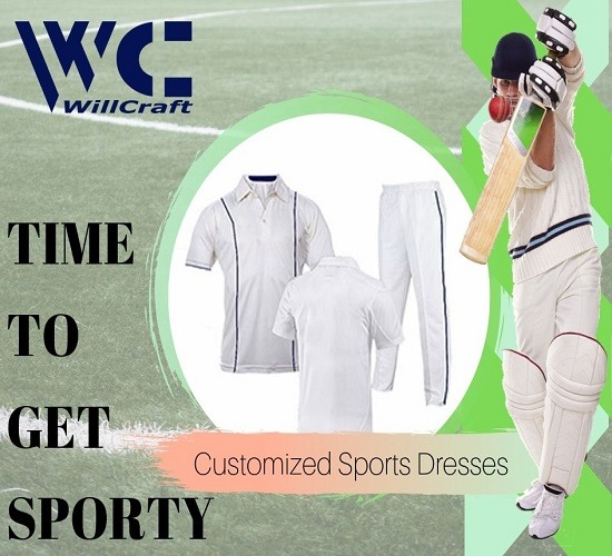 WillCraft Cricket Custom Dresses 1