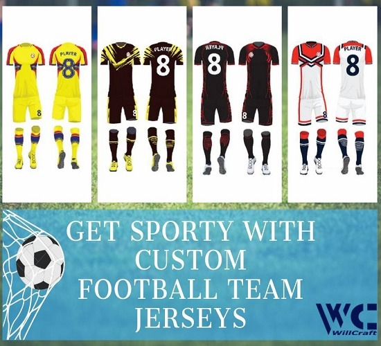 WillCraft Football Custom Dresses 1