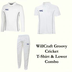 WillCraft Groovy Cricket T-Shirt & Lower Combo