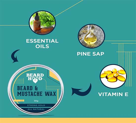 Beardhood Beard & Mustache Wax 5
