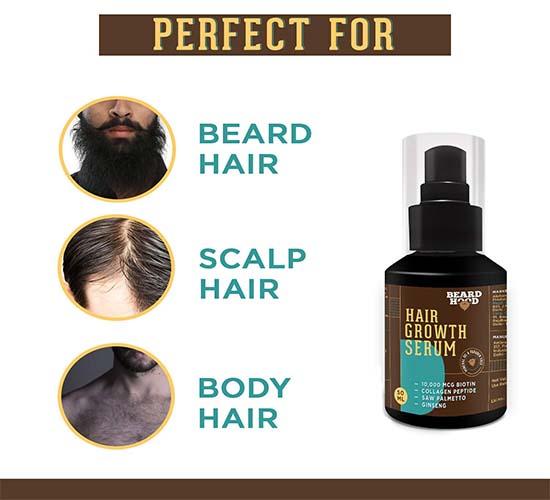 Beardhood Beard and Hair Growth Serum 1