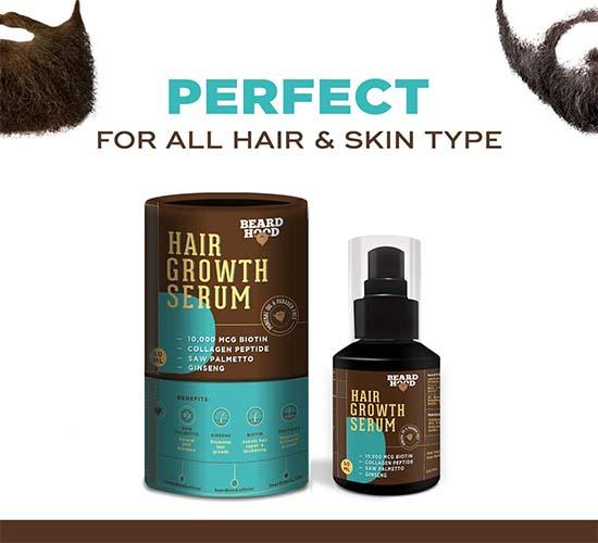 Beardhood Beard and Hair Growth Serum 4