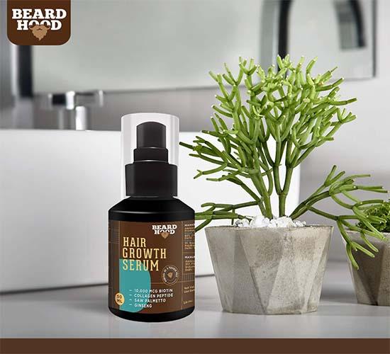 Beardhood Beard and Hair Growth Serum 5