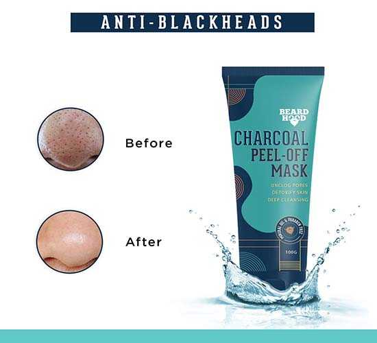 Beardhood Charcoal Peel-Off Mask, 100g 6