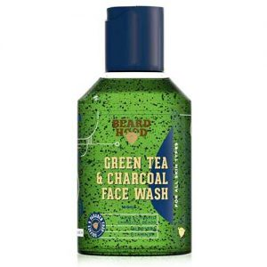 Beardhood Green Tea & Charcoal Face Wash