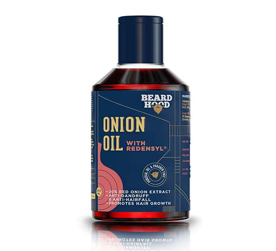 Beardhood Onion Oil