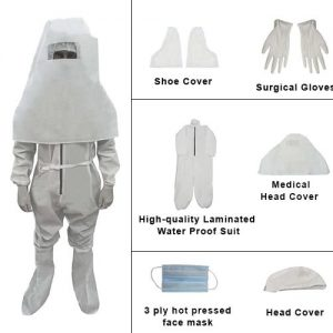 Generic Laminated Water Proof PPE Kit